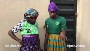 Video: Josh2funny – A Sign That Nigeria Will Win The World Cup
